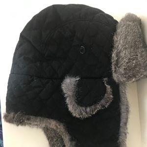 9e5f84f745087c Dockers Accessories | Genuine Rabbit Fur Trapper Hat | Poshmark